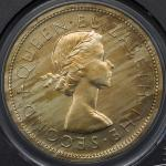 NEW ZEALAND ニュージーランド Crown 1953  PCGS-PF64CAM Proof