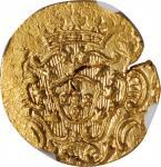 1790年葡萄牙印度果阿 12 Xerafins。玛丽亚 I。INDIA. Portuguese India. Goa. 12 Xerafins, 1790. Maria I. NGC MS-63.
