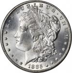 1885-CC Morgan Silver Dollar. MS-66 (PCGS). OGH.