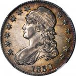 1832 Capped Bust Half Dollar. O-102. Rarity-1. Small Letters. MS-62 (NGC).