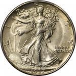 1937-S Walking Liberty Half Dollar. MS-67+ (PCGS). CAC.