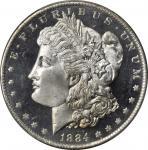 1884-O Morgan Silver Dollar. MS-66 DMPL (PCGS). CAC.