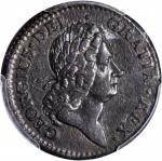 1723 Rosa Americana Penny. Martin 2.16-Eb.5, W-1278. Rarity-4. AU-58 (PCGS).