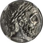 MACEDON. Kingdom of Macedon. Philip II, 359-336 B.C. AR Tetradrachm (14.43 gms), Amphipolis Mint, ca