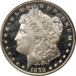 1879-S Morgan Silver Dollar. MS-67 PL (PCGS). CAC.