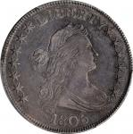 1806 Draped Bust Half Dollar. O-124, T-22. Rarity-6. E/A in STATES. EF-40 (PCGS).