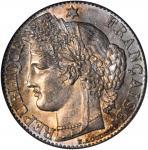 FRANCE. 50 Centimes, 1871-K. Bordeaux Mint. PCGS MS-64.
