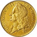 1748年英国乔治二世2几内亚金币。