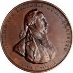 1779 (after 1874) Henry Lee at Paulus Hook medal. Betts-575, Julian MI-5. Copper. Original obverse,