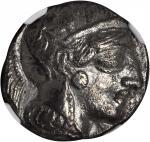 ATTICA. Athens. AR Tetradrachm (16.42 gms), ca. 440-404 B.C.