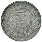 Italian coins;SAN MARINO 50 Centesimi 1898 - Gig. 29 AG (g 2.48) - qFDC;40