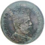 Savoy Coins;Umberto I (1878-1900) Eritrea - Lira 1896 - Nomisma 1043 AG Intensa patina - SPL;500
