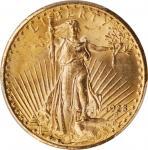 1928圣高登双鹰金币 PCGS MS 65