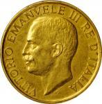 ITALY. 100 Lire, 1923-R. Rome Mint. PCGS AU-55 Gold Shield.