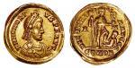 西罗马帝国皇帝洪诺留金币