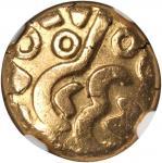GAUL. Nervii. AV Stater (6.53 gms), ca. 2nd-1st Century B.C. NGC EF, Strike: 3/5 Surface: 4/5.