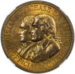 US Coins, Tokens & Medals,UNITED STATES:1904, bronze medal, H&K-303, NGC graded MS65 BR,