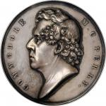 1854 (1856) Commodore Matthew C. Perry Treaty with Japan Medal. Silver. 63 mm. By Francis N. Mitchel
