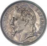 FRANCE Second Empire / Napoléon III (1852-1870). 5 francs tête laurée 1862, A, Paris.