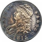 1815/2 Capped Bust Half Dollar. O-101. Rarity-2. Unc Details--Cleaned (PCGS).