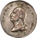 1824 Lafayette Visit medalet by Joseph Lewis. Musante GW-112, Baker-198A. Silver. EF-40 (PCGS).