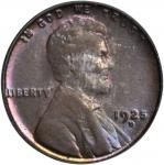 1925-D Lincoln Cent. MS-64 BN (PCGS).