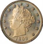 1893 Liberty Head Nickel. Proof-67 (PCGS). CAC.