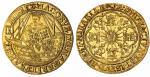 1611-1612年詹姆斯一世船贵族金币 NGC MS 64 James I (1603-1625), Second Coinage, Ship Noble or Spur Ryal