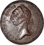 Undated Tupac Amaru Revolt Medal. Uniface Restrike. Bronze. 38.5 mm. Mint State.