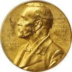 (1975) A10 Nominating Committee For the Nobel Prize in Science Medal. Gold. 26 mm. 20.1 grams. Speci