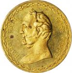 1852 Winfield Scott Medal. DeWitt-WS 1852-7. Brass. 32 mm. MS-63 (PCGS).