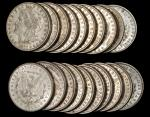 Lot of (374) 1880-O Morgan Silver Dollars. Mostly Extremely Fine to About Uncirculated.