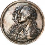 Circa 1805 Peace of 1783 medal. Musante GW-92, Baker-58, Julian CM-5. Silver. SP-62 (PCGS).
