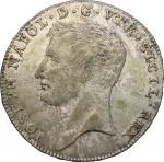 Monete e Medaglie di Zecche Italiane, Napoli.  Giuseppe Napoleone (1808-1813). Piastra 1807. P/R 2.