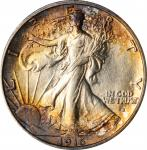 1916-S Walking Liberty Half Dollar. MS-63 (NGC).