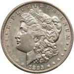 1893 Morgan Dollar. PCGS AU55