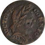 1785 Connecticut Copper. Miller 3.5-B, W-2350. Rarity-5+. Mailed Bust Right. VF-20 (PCGS).