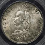 GREAT BRITAIN Victoria ヴィクトリア(1837~1901) Florin 1887 PCGS-MS63 UNC