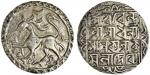 Tripura, Dhanya Manikya (1490-1526), Tanka, 10.40g, Sk.1412, citing Queen Kamala with title ?Lord of