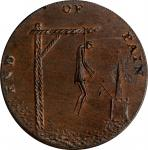 Great Britain--Middlesex. Undated (1790s) End of Pain Halfpenny Token. D&H-831, W-8992. Copper. Plai