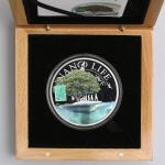 COOK ISLANDS クック诸岛 10Dollars 2015 鑑定书、オリジナ儿ケース付 with original case and cert Proof