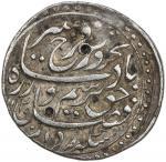 MUGHAL: Farrukhsiyar, 1713-1719, AR nazarana style rupee 4011。48g41, Multan, AH1129 year 6, KM-377。4