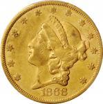 1868-S Liberty Head Double Eagle. EF-45 (PCGS).