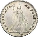 Monete e Medaglie di Zecche Italiane, Napoli.  Repubblica Partenopea (23 gennaio-19 giugno 1799). 12