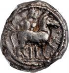 MACEDON. Macedonian Tribes. Bisaltai. AR Octodrachm (Oktadrachm) (28.88 gms), ca. 480-465 B.C. NGC C