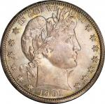 1901-S Barber Half Dollar. MS-66 (PCGS). CAC.