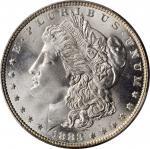 1883 Morgan Silver Dollar. MS-67 (PCGS).