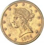 USA République fédérale des États-Unis d'Amérique (1776-à nos jours). 10 dollars Liberty 1884, CC, C