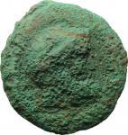 Etruscan Coins, Etruria, Populonia. AE 100 Centesimae, 4th century BC. Vecchi EC I, 1-7 (O1/R1, Unce