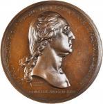 1776 (ca. 1860-1879) Washington Before Boston Medal. Paris Mint Restrike. Bronze. 68.5 mm. Musante G